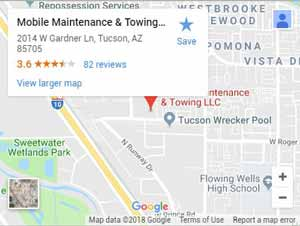 Mobile Maintenance and Towing LLC on Google Maps
